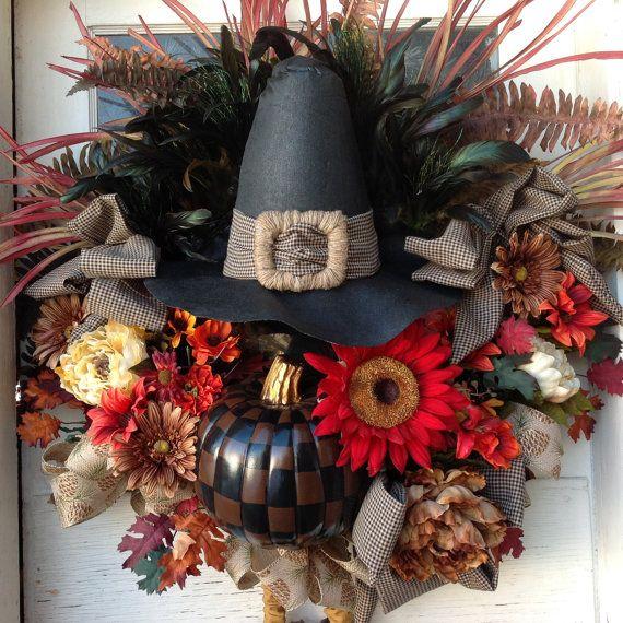 thanksgiving fall turkey wreath by uniquethingamajigs on etsy wreath ideas pinterest turkey wreath wreaths and etsy