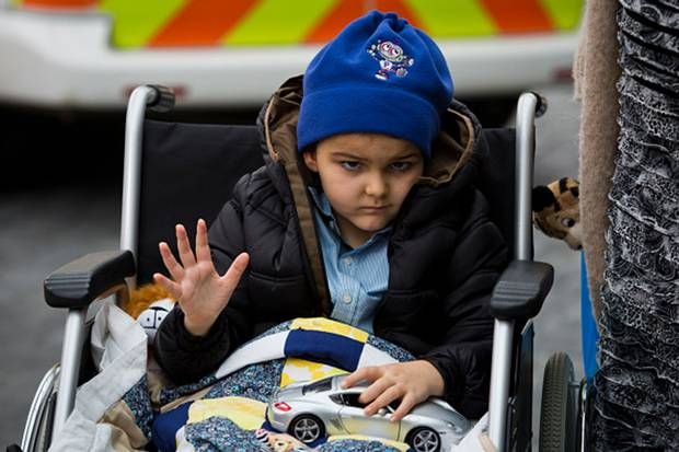 """Ashya King: Prague medics 'over the moon' with progress of boy's proton beam therapy brain cancer treatment - Europe - World - The IndependentThe woman in charge of the medical centre in Prague that treated brain cancer survivor Ashya King has said she is """"over the moon"""" with his progress.  Iva Tatounova said the six-year-old's recovery was more proof that proton beam therapy should be """"the first choice"""" of treatment for children with his condition."""