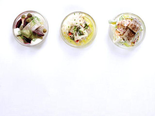Pepparrotssill med äpple och kapris (kock Fredrik Eriksson)