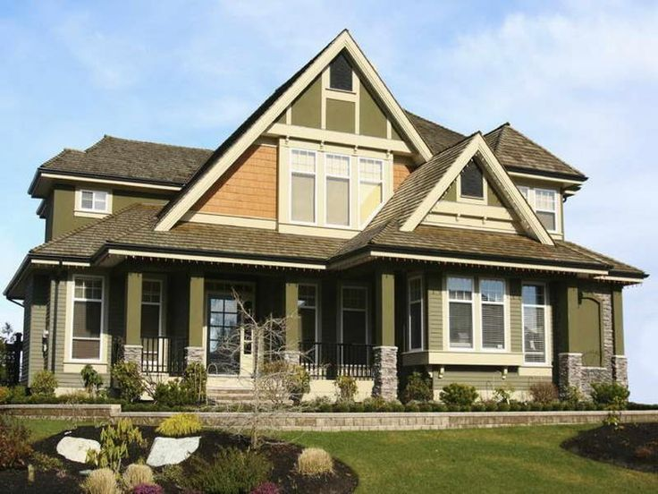Ranch House Color Combinations | When you go with dark exterior house colors for your house, they last ...