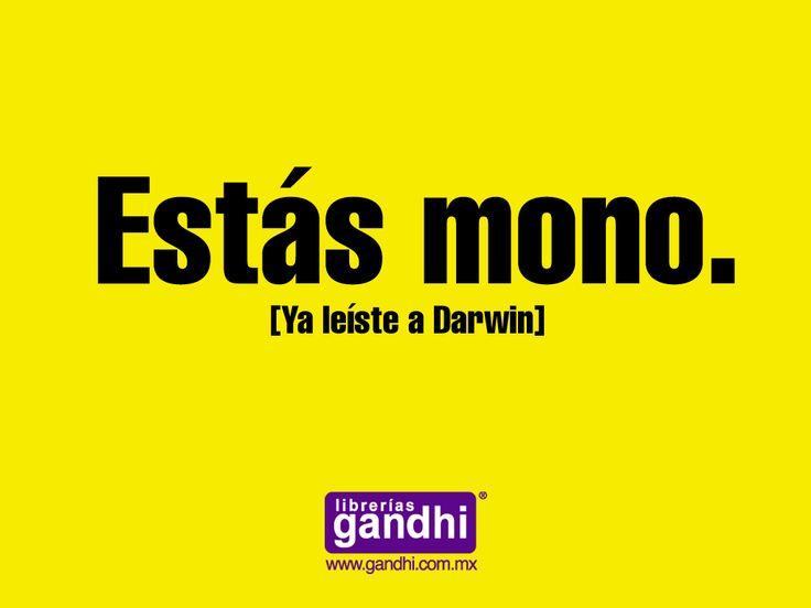 Publicidad de librería Ghandi