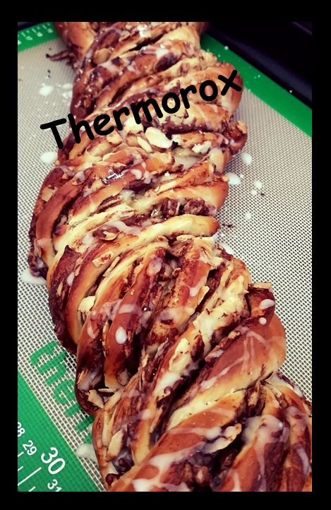 Nutella Scroll - See recipe on my Facebook page. https://www.facebook.com/Thermorox