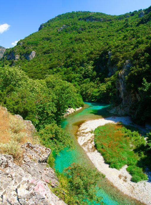 VISIT GREECE| Voidomatis river, Zayorohoria, #Epirus region! The most charming #season of the year is here! The #Greek countryside is waiting to reveal its secrets! Autumn, with golden brown foliage and mild temperature is the ideal time to visit Greece, if you are looking to experience the culture, local life, unique natural environments and sports!