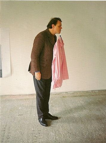One Minute Sculpture by Erwin Wurm