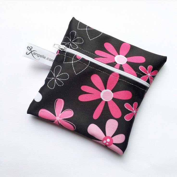 A personal favorite from my Etsy shop https://www.etsy.com/ca/listing/466693791/pink-flowers-reusable-snack-bag