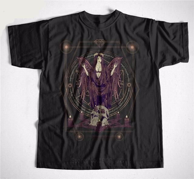 angel of death gothi emo punk rock metal tee shirt - crow4show