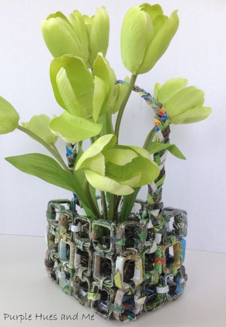 Earth Day Upcycled Magazine Basket�4:48 AM�Gail @Purple Hues and Me�Crafts, DIY, Earth Day, Magazine Basket�5 commentsEarth Day Upcycled Magazine Basket