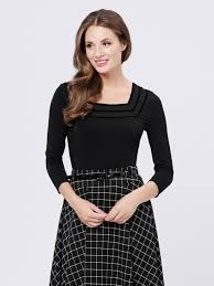 Image result for review vienna check skirt
