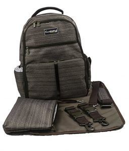 """Best Diaper Bags For Dads: Knuddelstuff """"Buckingham"""" Backpack -Reviews by OhanaMom.com"""