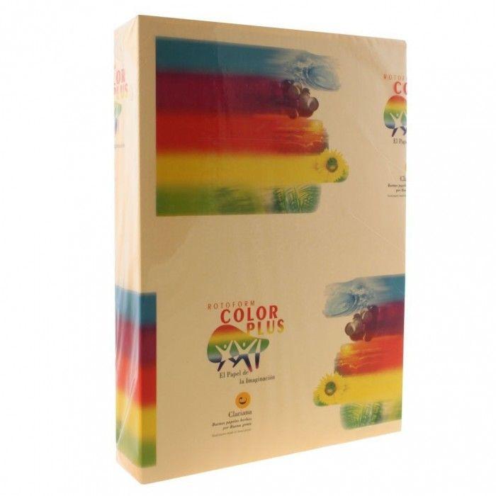 Carton colorat auriu pal, A4, 160g/mp, 250 coli/top, Clariana - Carton Colorat - Papetarie