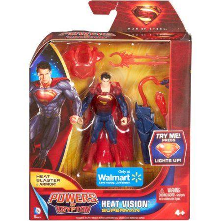 DC Comics Superman: Man of Steel Heat Vision Superman Action Figure