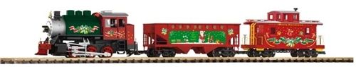 Black Forest® Hobby Supply Co - CHRISTMAS FREIGHT STARTER SET PK-38105 - G SCALE, $319.99 (http://www.blackforesthobby.com/christmas-freight-starter-set/)