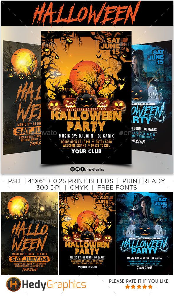 Best Halloween Flyer Templates Images On   Flyer
