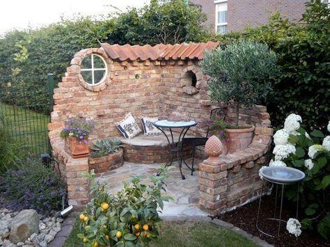 Eine Steinmauer verleiht Ihrem Garten eine wunderbare Atmosphäre … 9 Beispiele für …  – Garten