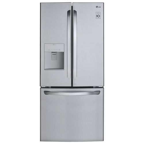 "LG 30"" 22 Cu. Ft. French Door Refrigerator (LFD22786ST) - Stainless Steelonly only 33 inches deep!!!!"
