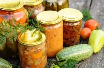 Салат из кабачков на зиму - рецепты пальчики оближешь. Вкусные кабачки на зиму