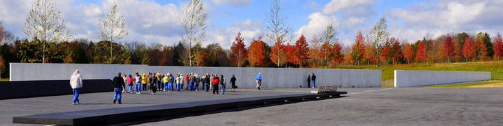 Flight 93 Memorial -it is a great tribute to the 40 heroes that died preserving our freedoms and saving the Capital or White House from being a target of the 9/11 terrorists.