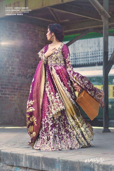 Rahgeer by Zara Shahjahan (Desi Bridal Shaadi Indian Pakistani Wedding Mehndi Walima)