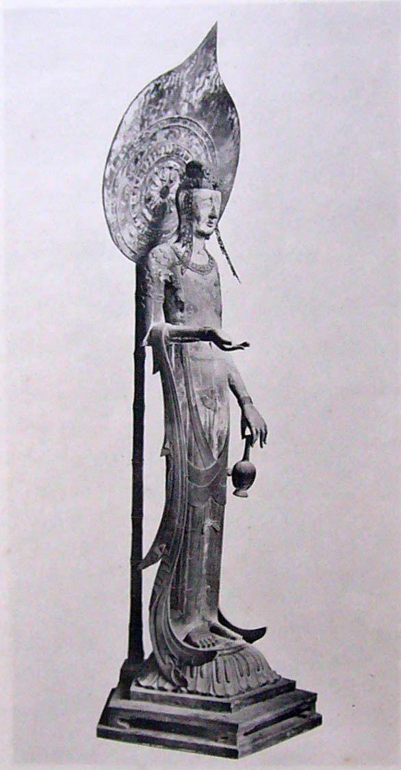 奈良法隆寺的國寶--百済観音像 SA1 飛鳥文化