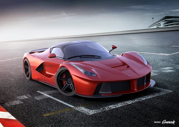 Look How Sweet This LaFerrari Is. But Better With Logos!
