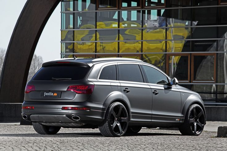Fostla's Stealthily Wrapped Audi Q7 V12 TDI with 592-horses