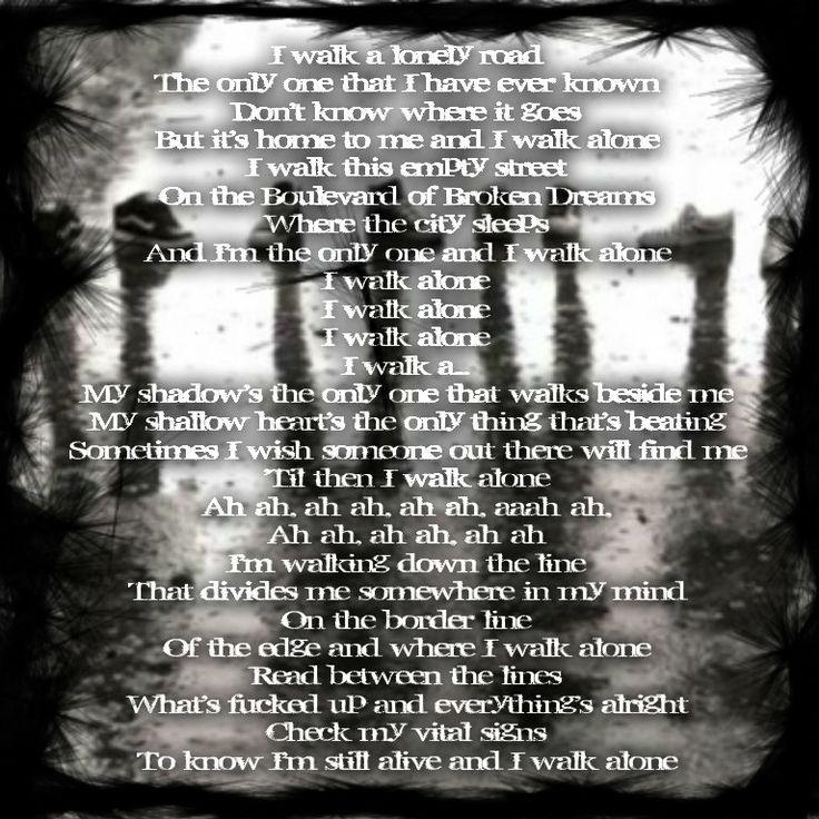 Green Day - Boulevard Of Broken Dreams Lyrics   MetroLyrics