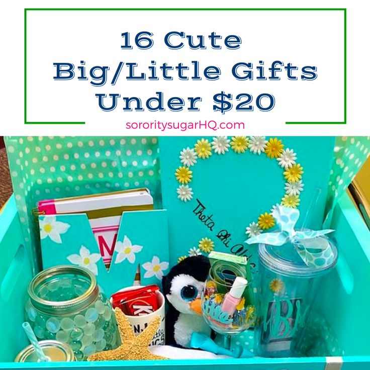 Be sweet on big/little SAVINGS with these affordable giftie ideas from sorority sugar! Spoil your favorite sister with greek girl swag that don't bust your budget. <3