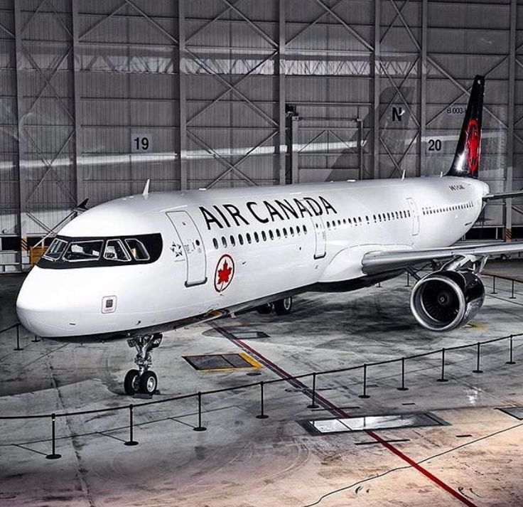 Air Canada new liveried A321