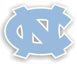 "North Carolina Tar Heels 12"""" Car Magnet"