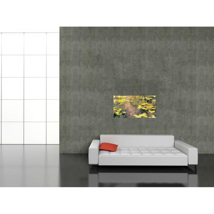 MONET - NINFEE #artprints #interior #design #art #prints #Monet  Scopri Descrizione e Prezzo http://www.artopweb.com/autori/claude-monet/EC16948