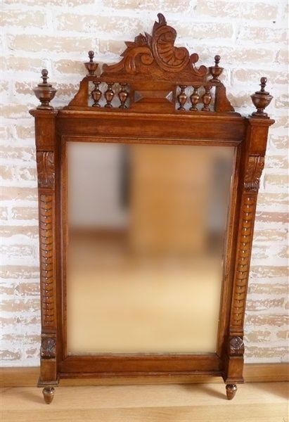 L'atelier de Papillon - Restoration of an Elizabethan mirror
