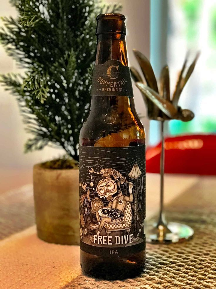 Caveman Beer Reviews Coppertail Brewing Co Free Dive Ipa Brewing Co Beer Ipa