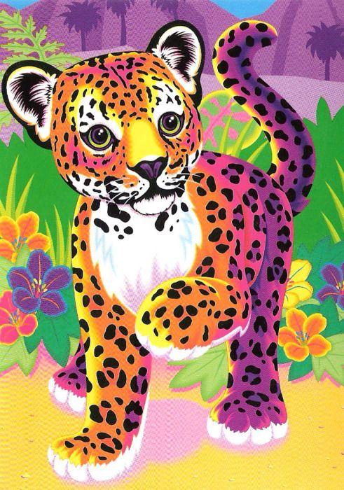 Rainbow Cheetah Cake