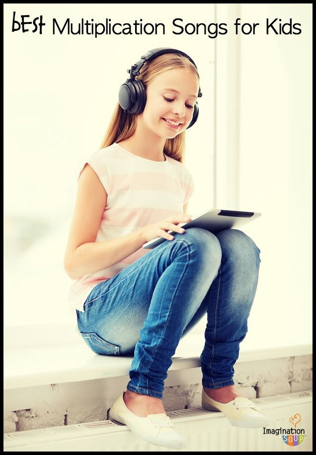 Download the best multiplication songs for your kids to learn their times tables -- especially if your children love music and learn best with music.