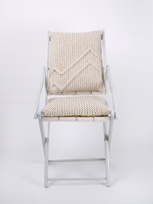 Folding Chair by Naomi Paul | Remodelista totally DIY   Would you ever get your arse off this chair?