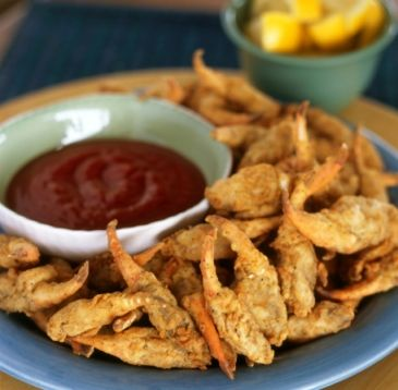Deep Fried Crab Claws