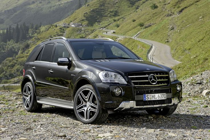 Mercedes ML AMG ... Something foR the wife to go shopping in ?