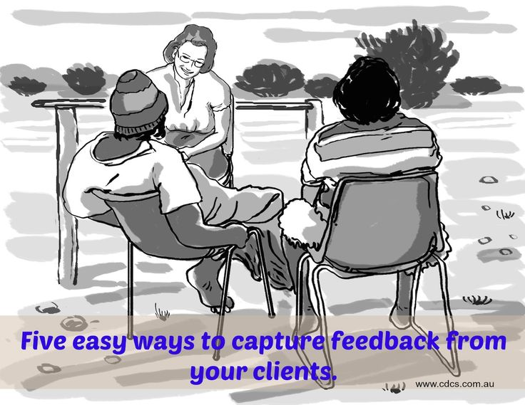 Five easy ways of gaining client feedback