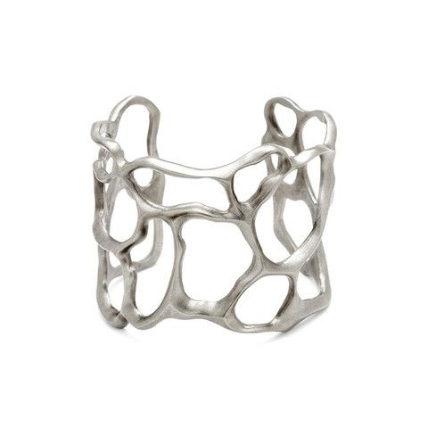 Julie Cohn Design: Sterling Fan Coral Cuff.