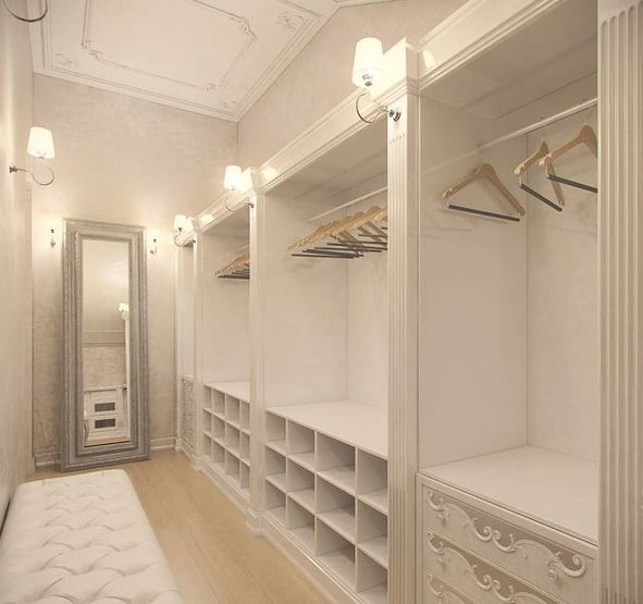 This Is An Awesome Closet Layout , If You Have A Narrow Space