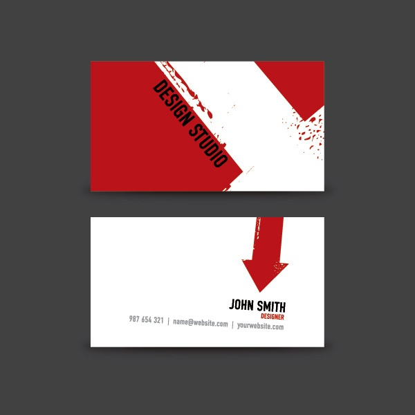 97 best business cards design images on pinterest visit cards free download of this extraordinary design studio business card vector template designed by dryicons reheart Gallery