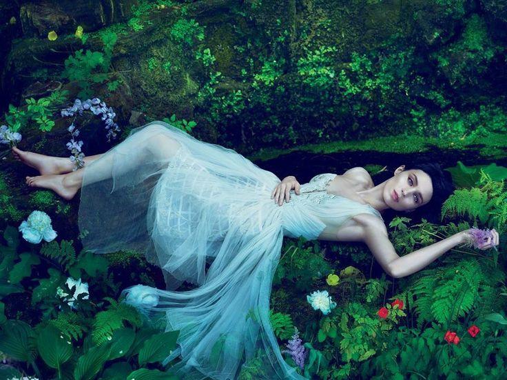 Photo: Rooney Mara by Mert Alas & Markus Pigott for Vogue US November Issue 2011