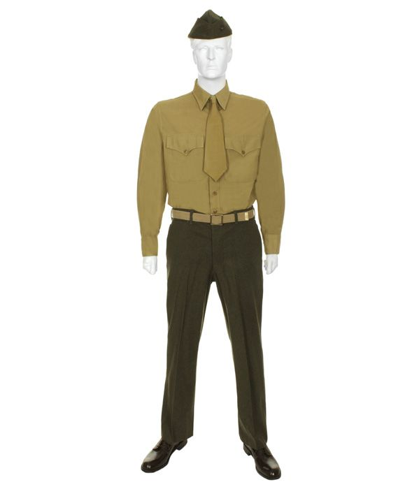 U.S. Marine Winter Service (Class B) WWII...  This explains my endless love for this uniform.