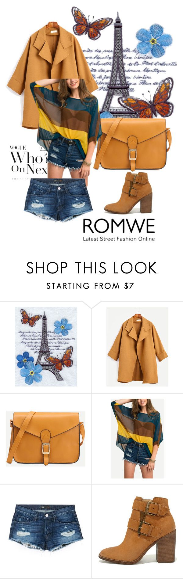 """""""Romwe: Yellow Faux Leather Buckle Bag"""" by ester-ludwig ❤ liked on Polyvore featuring 3x1 and Steve Madden"""