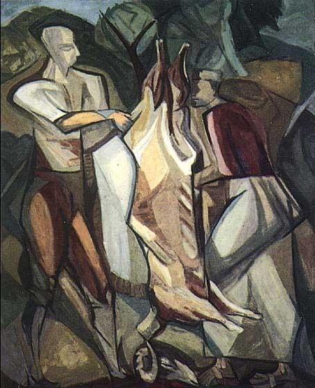 Cemal Tollu, kübist bir resim üslubu anlayışına yöresel anlamlar kazandırma yolunda bir sanatçı olarak görülmektedir.