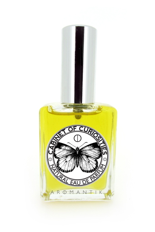 'cabinet of curiosities' natural eau de parfum spray by Aromantik. www.aromantik.com.au