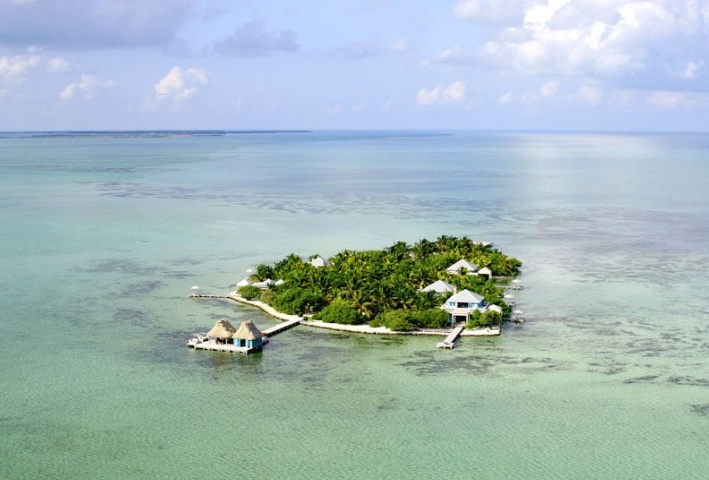 Cayo Espanto island hotel in Belize #holtspintowin