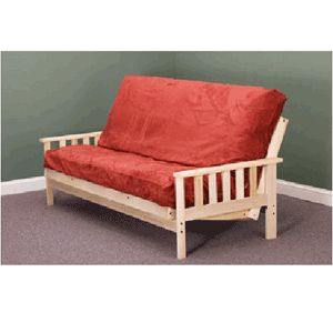 The Savannah is a traditional bi fold futon frame with Mission Arms. Constructed with solid poplar hardwood, this frame will stand up to many years of use.