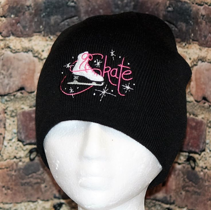 Hollywood Filane - Figure Skating Skate Black Beanie Toque , $19.95 (http://www.hollywoodfilane.com/figure-skating-skate-black-beanie-toque/)