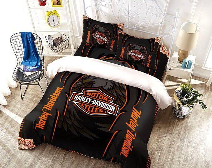 Distinct Interior Personalized Bedding Set With Your Own Photo Etsy In 2021 Personalized Bedding Bedding Set Customised Bed